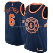 New York Knicks Basket Tröja 2018 Kristaps Porzingis 6# City Edition..