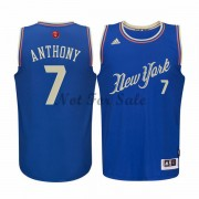 New York Knicks Basket Linne Carmelo Anthony 7# NBA Jul Tröja..