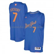 New York Knicks Basketkläder 2016 Carmelo Anthony 7# NBA Jultröja..