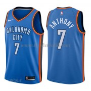 Barn NBA Tröja Oklahoma City Thunder 2018 Carmelo Anthony 7# Icon Edition..