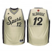 San Antonio Spurs Basketkläder 2015 Lamarcus Aldridge 12# NBA Jultröja..